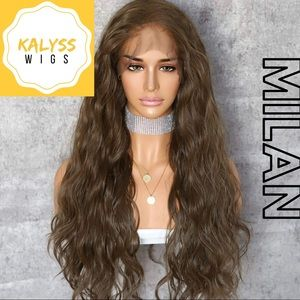 """""""Milan"""" 13x2.5 Lace Front Synthetic Wig"""